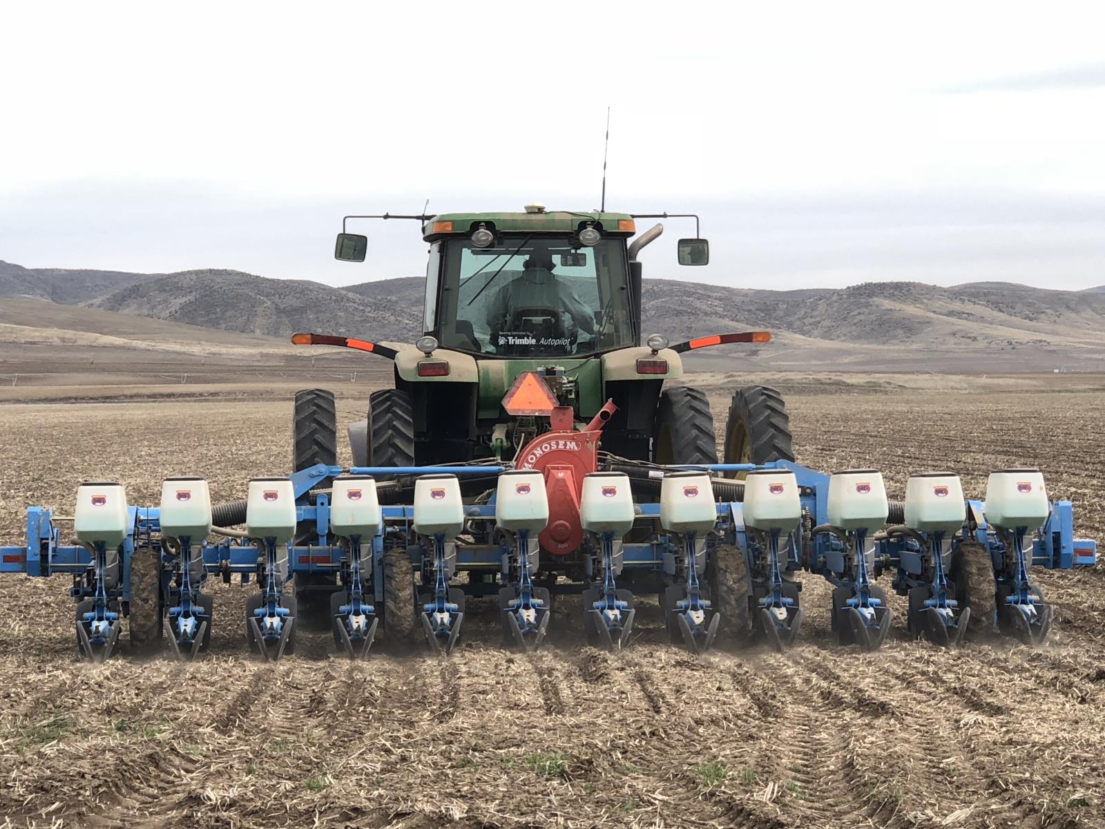 Sugar beets are planted in a field near Weiser in March.